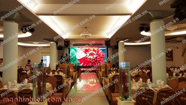 Màn hình Led P5 Nhà hàng Tiệc cưới Đông Phương 2 - Hoàng Việt, TPHCM