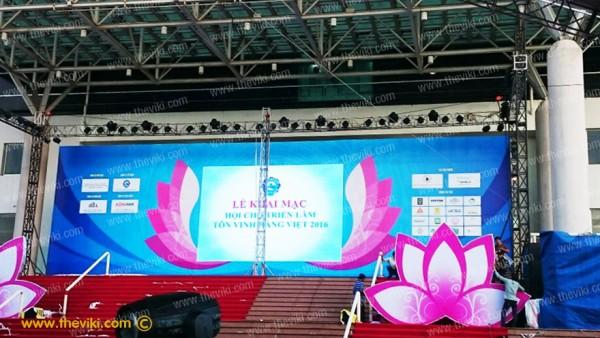 Lễ Khai Mạc Hội Chợ Triển Lãm Tôn Vinh Hàng Việt 2016