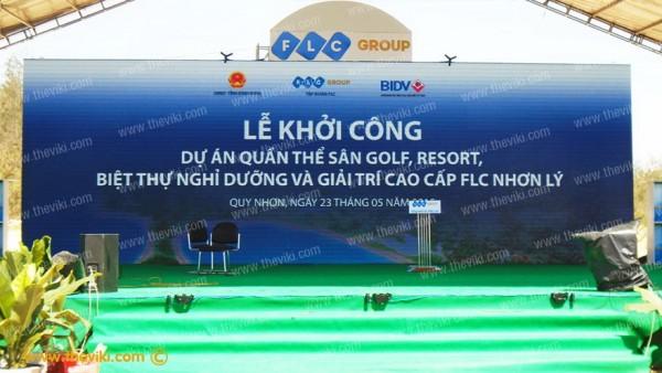 Lễ Ra Mắt Dự Án Khởi Công FLC Nhơn Lý Bình Định